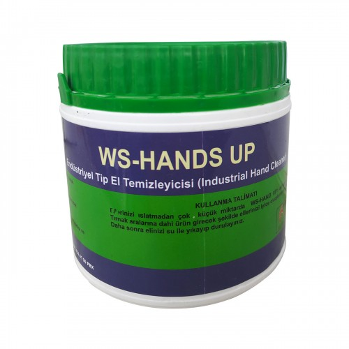 Ws-Hands Up Endüstriyel Tip El Temizleyici