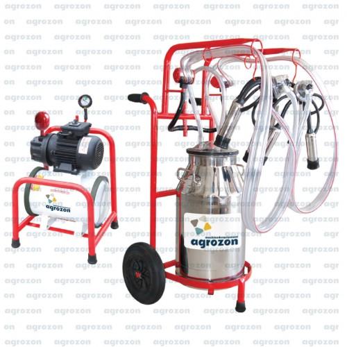 Agrozon Sağım Makinası (Yarı Sabit Model)